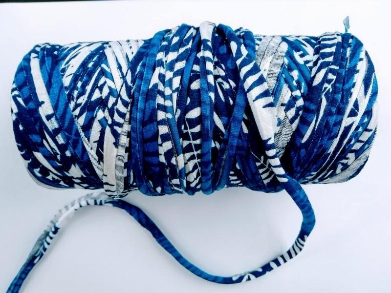 Malha Azul c/ Branco