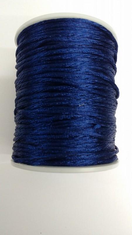 Fio de Seda Azul Marinho 2° linha