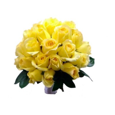 Buquê de Noiva Rosas Amarelas