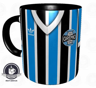 Caneca Grêmio - Camisa 1983 Mundial - Porcelana 325ml