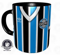 Caneca Grêmio - Camisa 1983 Mundial - Porcelana 325ml 1