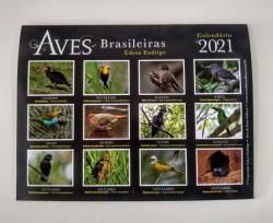 CALENDÁRIO 2021 AVES BRASILEIRAS 2
