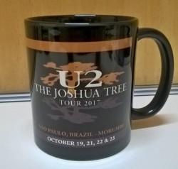 Caneca U2 - The Joshua Tree Tour 2017 - Porcelana 325ml 1