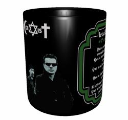 Caneca Bandas Clássicas - U2 (Coexist) - Porcelana 325 ml 2