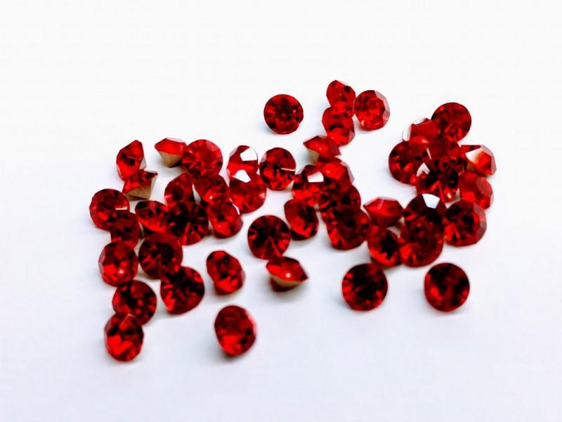 Ponto de Luz Resina 50 Unidades Vermelho Red