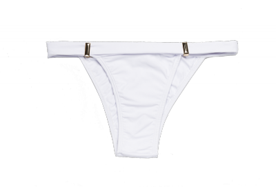 Biquini tanga branca