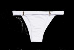 Biquini tanga branca 1