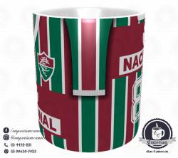 Caneca Fluminense - Camisa 1984 - Campeão Brasileiro - Porcelana 325 ml 2