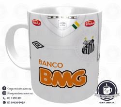 Caneca Santos - Camisa Libertadores 2011 - Porcelana 325ml 1
