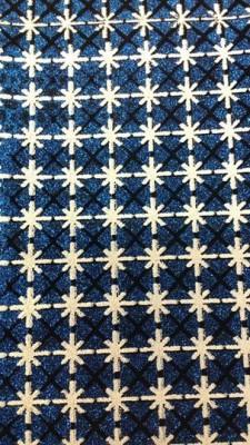 Lonita Azul com Branco e Preto