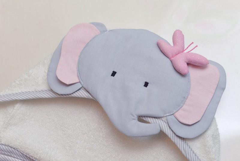 Toalha de Banho de Elefantinha