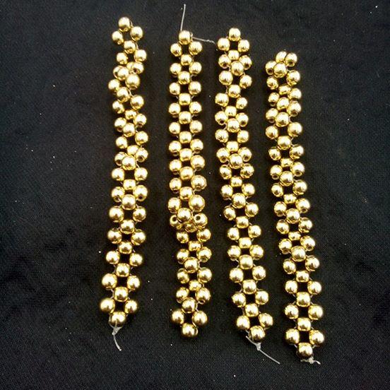 Tiras de Perola Dourada -T. P 233
