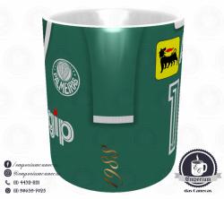 Caneca Palmeiras - Camisa 1988 - Porcelana 325 ml 2