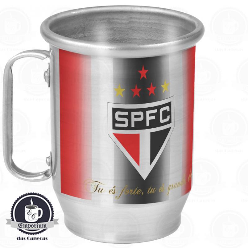 Caneca de Chopp São Paulo FC - Alumínio 600 ml