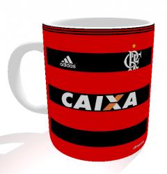 Caneca Flamengo - Camisa 2013 Copa do Brasil - Porcelana 325 ml 1