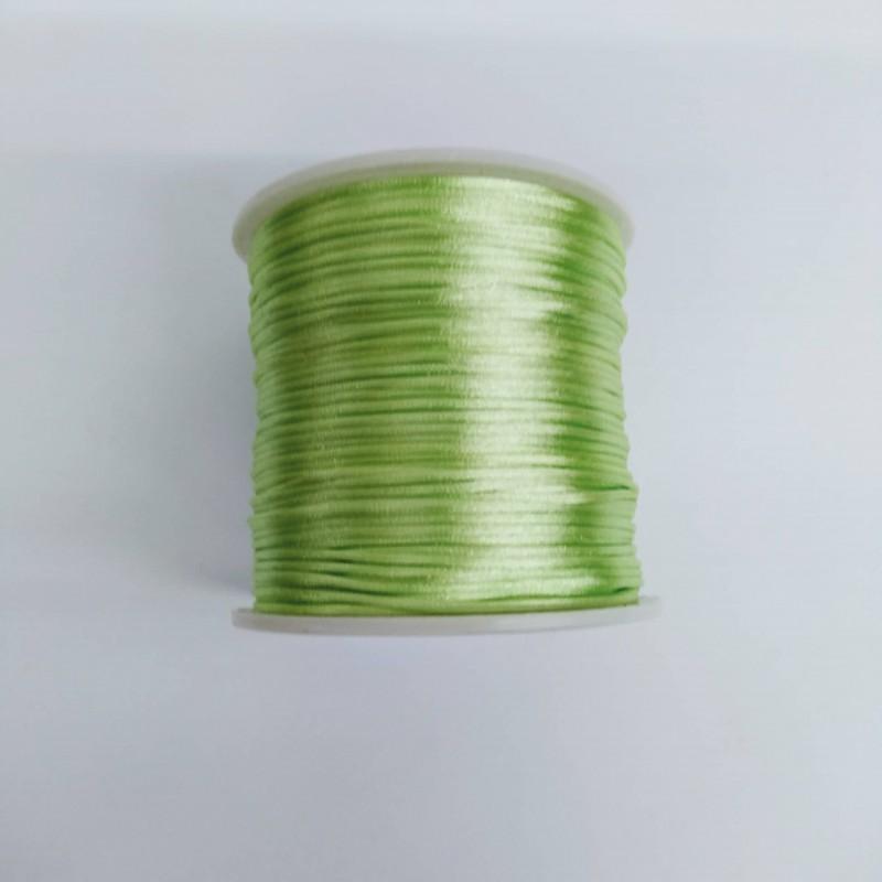 Fio de Seda Verde Pistache 1º Qualidade
