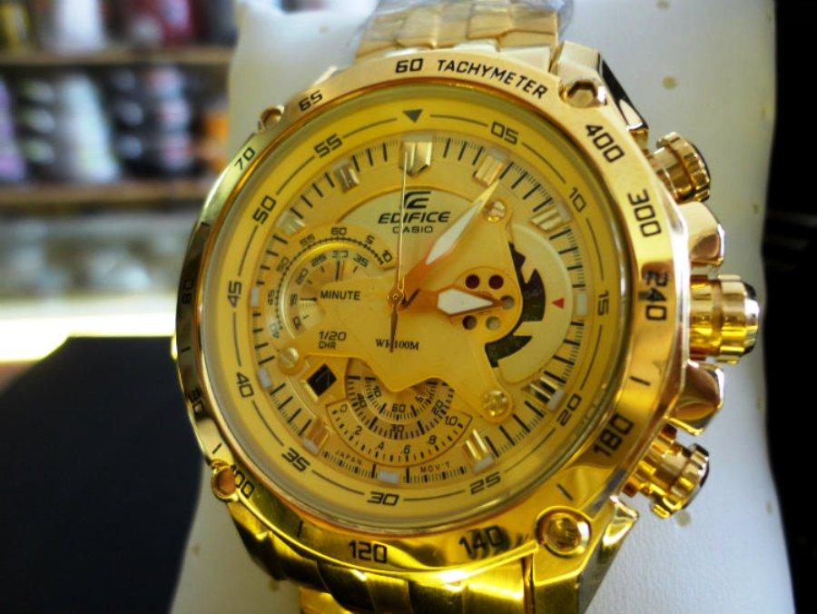 f6f7332d217 Relógio de Luxo Casio Edifice EF-550-FG-9AV Edição Limitada
