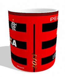 Caneca Flamengo - Camisa 2013 Copa do Brasil - Porcelana 325 ml 2