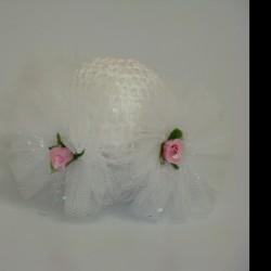 Rede decorada c/ flores 2