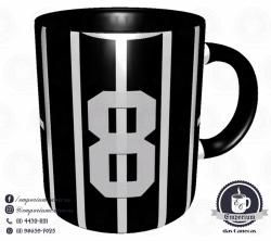 Caneca Corinthians - Camisa 1977 Basílio - Porcelana 325 ml 3