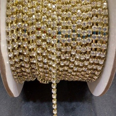 Strass Asfour Dourado 16 - S. M 370