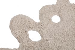 Tapete retangular vazado na cor bege, modelo C-00008 4