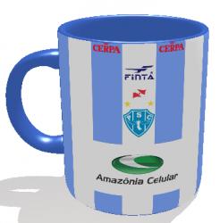 Caneca Paysandu - Camisa 2002 Copa dos Campeões - Porcelana 325 ml 1
