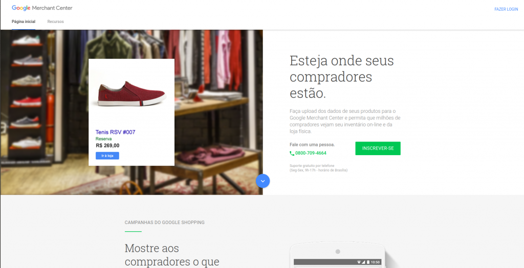 Arquivos 21 - Google Shopping (Merchant Center) | Plataforma