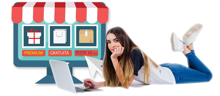 loja virtual facileme premium gratis teste